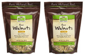 2-Pack Of Real Food Raw Walnuts Unsalted 12 oz (340 g), Now Foods