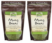2-Pack Of Mung Beans 16 oz (454 g), Now Foods