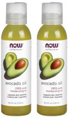 2-Pack Of Solutions Avocado Oil 4 oz (118 ml), Now Foods