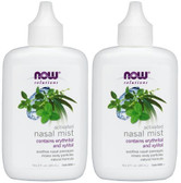 2-Pack Of Activated Nasal Mist 2 oz, Now Foods, Relieves Nasal Irritation