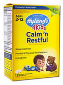 Calm' n Restful 125 Tabs, Hylands Calms Forte 4 Kids