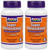 2-Pack Of Super Antioxidants 60 Vcaps, Now Foods