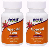 2-Pack Of Now Special Two 90 Tabs, Now Foods