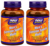 2-Pack Of Men'S Extreme Sports Multivitamin 90 Sgels, Now Foods