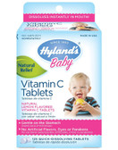 Baby Vitamin C 125 Quick Dissolving Tabs Hylands, Natural Flavor