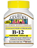 B-12 1000 mcg 110 Tabs, 21st Century Health Care