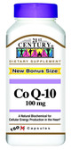 CoQ10 100 mg 150 Caps, 21st Century Health Care