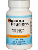 Mucuna Pruriens 200 mg 60 Caps, Advance Physician Formulas