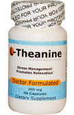 L-Theanine 200 mg 60 Caps, Advance Physician Formulas