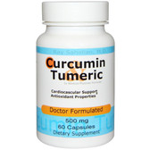 Curcumin Turmeric 500 mg 60 Caps, Advance Physician Formulas