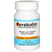 Forskolin Coleus Forskohlii Extract 100 mg 60 Caps, Advance Physician Formulas