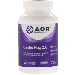 Classic Series Cardio-Mag 2.0 120 Veggie Caps, Advanced Orthomolecular Research AOR