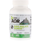Classic Series Mag Malate Renew 120 Veggie Caps, Advanced Orthomolecular Research AOR