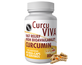 CurcuViva Curcumin 80 mg 60 Veggie Caps, Advanced Orthomolecular Research AOR