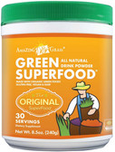 Green Super Food All Natural Drink Powder 8.5 oz (240 g), Amazing Grass