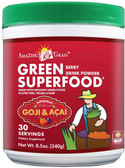 Green SuperFood Berry Drink Powder 8.5 oz (240 g), Amazing Grass