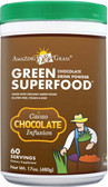 Green SuperFood Chocolate Drink Powder Cacao Infusion 17 oz (480 g), Amazing Grass