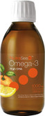 NutraSea High DHA Omega-3 Juicy Citrus Flavor 6.8 oz (200 ml), Ascenta