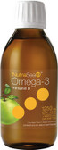 NutraSea + D Omega-3 + Vitamin D Crisp Apple Flavor 6.8 oz (200 ml) Liquid, Ascenta