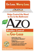 Bladder Control with Go-Less 54 Caps Azo, Urinary Tract