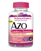 Cranberry Gummies Mixed Berry Flavor 40 Gummies, Azo