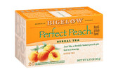 Herb Tea Perfect Peach Caffeine Free 20 Tea Bags 1.37 oz (38 g), Bigelow