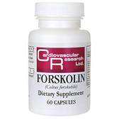 Forskolin 60 Caps, Cardiovascular Research