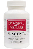 Ecological Formulas Placenta (Lyophilized) 60 Caps, Cardiovascular Research