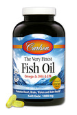 The Very Finest Fish Oil Orange 1000 mg 120 sGels, Carlson Labs