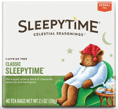 Herbal Tea Caffeine Free Sleepytime 40 Tea Bags 2.0 (58 g), Celestial Seasonings