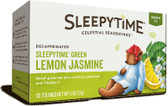 Sleepytime Green Lemon Jasmine Decaf 20 Tea Bags 1.1 oz (31 g), Celestial Seasonings