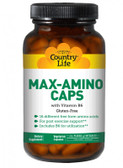 Max-Amino Caps with Vitamin B-6 180 Veggie Caps, Country Life