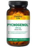 Pycnogenol 100 mg 30 Veggie Caps, Country Life