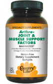 Gluten Free Arthro - Joint & Muscle Support Factors 60 sGels, Country Life