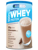 100% Whey Protein Sugar Free Chocolate Flavor 12.5 oz (355 g), Country Life