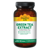 Green Tea Extract 90 Tabs, Country Life
