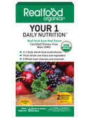 Realfood Organics Your 1 Daily Nutrition 60 Tabs, Country Life