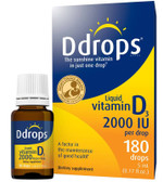Liquid Vitamin D3 2000 IU 0.17 oz (5 ml), D Drops