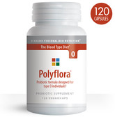 Polyflora Probiotic Formula for Blood Type Diet 0 120 Veggie Caps, D'adamo