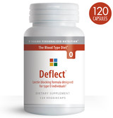 Deflect Lectin Blocking Formula The Blood Type Diet 0 120 Veggie Caps, D'adamo