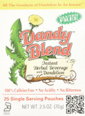 Instant Herbal Beverage With Dandelion 25 Single Serving Pouches, Dandy Blend