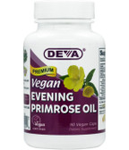 Premium Vegan Evening Primrose Oil 90 Vegan Caps, Deva