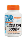 Best Vitamin D3 5000 IU 180 sGels, Doctor's Best