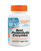 Best Proteolytic Enzymes 90 Enteric Coated Veggie Caps, Doctor's Best