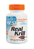 Real Krill 350 mg 60 Softgel Caps, Doctor's Best