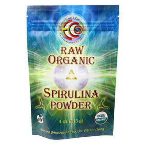 Spirulina Powder Raw Organic 4 oz (113 g), Earth Circle Organics