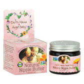 Natural Nipple Butter 2 oz (60 ml), Earth Mama Angel Baby