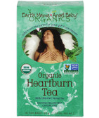 Organic Heartburn Tea Soothing Mellow Mint Caffeine Free 16 Tea Bags 1.23 oz (35 g), Earth Mama Angel Baby