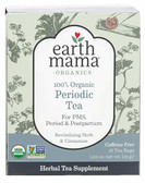 Organic Monthly Comfort Tea Cinnamon Spice 16 Tea Bags, Earth Mama