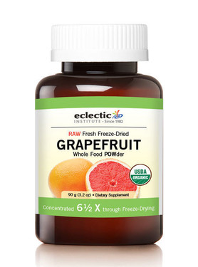 Grapefruit POWder Raw 3.2 oz (90 g), Eclectic Institute